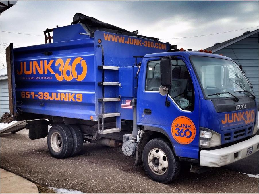 junk hauling service in St. Paul - Minneapolis - metro